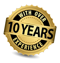 Over 10 years experience