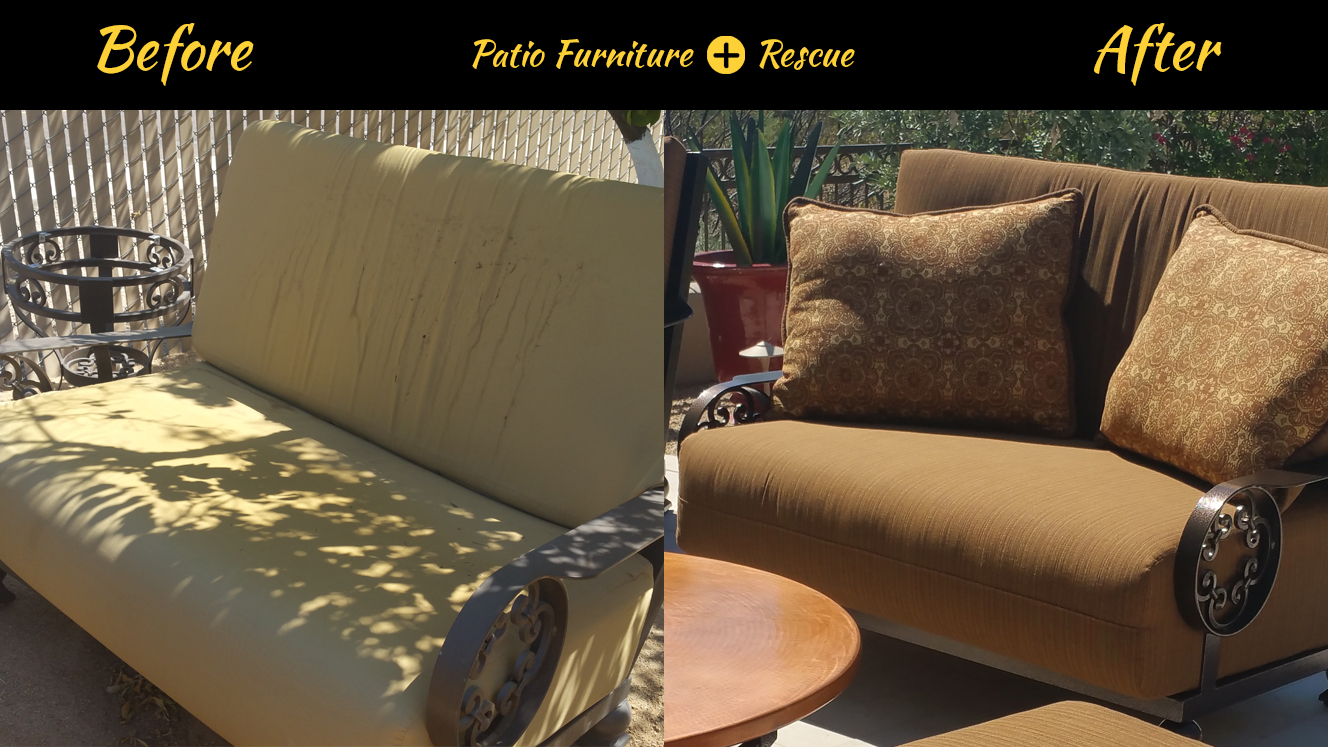 Loveseat Before And After