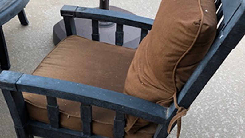 Cushion Replacement Service | Dining Chair - BEFORE
