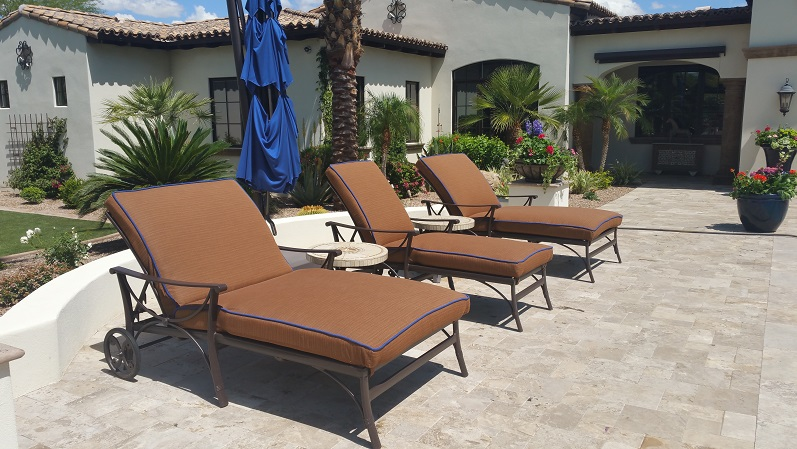 Spruce-Up Service   Cushion Chaise Lounges